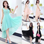 NEW Women Lady Formal Wedding Bridesmaid Long Evening Party Gown Cocktail Dress
