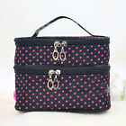 Multifunction Purse Travel Makeup Cosmetic Bags Toiletry Wash Storage Case Pouch