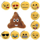 Hot Sale Emoji Smiley Emoticon Amusing Key Chain Toy Gift Pendant Bag Accessory