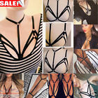New Alluring Womens Harness Bra Elastic Cage Bra Strappy Hollow Out Bra Bustier