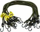 Elasticated Bungee Straps Cords Military Army Basha Hook Luggage Suitcase 8mm