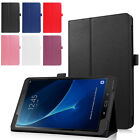"Folio Slim Shell Case Stand Cover For#Samsung Galaxy Tablet A 10.1"" SM-T580 T585"