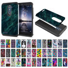 For ZTE Zmax Pro Carry Z981 Shock Proof Impact Hybrid TPU Hard Case Cover