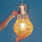 Antique Industrial DIY BIG Edison Bulb Glass Ceiling Lamp Pendant Light Home Ba