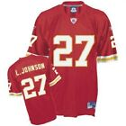NFL Football Premier Trikot Jersey KANSAS CITY CHIEFS Larry Johnson Nr 27 rot