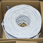 Cat5e Cat6 CAT6A CCA Pure Copper UL UTP Ethernet Network Cable Bulk Color 1000FT