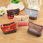 Cute Small Womens Handbag Zip Coin Bag Case Key Card Holder Purse Wallet