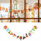 Happy Birthday & Party  Cute Garland Design Bunting Banners