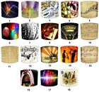 Musical Notes Design Lampshades Ideal To Match Musical Notes Quilts & Bedspreads