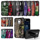 Shockproof Case w/Stand Cover for LG Aristo Phoenix 3 Fortune Rebel 2 L58VL