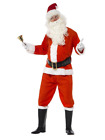 Classic Santa Claus Father Christmas Christams Deluxe Fancy Dress Costume