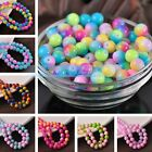 Bulk Wholesale Round Glass Loose Spacer Colorful Beads 6mm 8mm 10mm 12mm