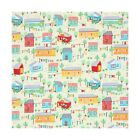 100% Cotton Fabric Timeless Treasures Holiday Cabins Summer Houses Prairie Homes