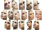 Smiffy's False Eyelashes diva womens photo shoot model Costume Accessories
