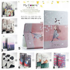 "Stylish Print Wake/Sleep Folio Stand TPU Case For Apple 7.9""-9.7"" Tablet Device"