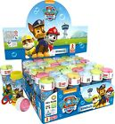 Box of 36 or 6 Pots Boys Girls Paw Patrol Bubbles Party Bag Stocking Fillers Toy