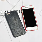 For Iphone 6/6s Plus 5.5 Cover Case Soft Crocodile PU Slim Back Skin Protective