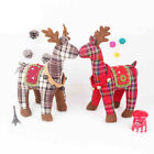 Christmas Deer Doll Toy Xmas Holiday Tree Ornament Gift Home Party Decor US Ship
