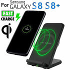 Fast Wireless Charger with Fan 2 Coil Charging Stand for Samsung Galaxy S8 Plus