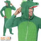 Crocodile Adults Fancy Dress Mens Animal Book Week Alligator Costume Outfit