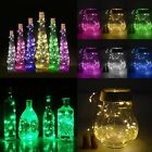 Cork Shaped 15 LED Night Light Starry Lights Wine Bottle Lamp For Wedding Party