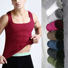 US Mens Boy Comfy Cotton A-Shirt Top Quality Muscle Ribbed Wife Beater/Tank Top