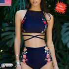 Hot Women Bikini Set Swimwear Push-Up Padded Bra Swimsuit Beachwear Bathing Suit