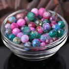30pcs 10X8mm Faceted Rondelle Glass Lacquer Loose Colorful Spacer Beads DIY