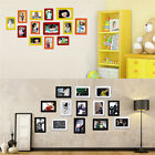 7.87'' PVC Photo Wall Crystal Picture Photo Frame with 7 Colors Home DIY Decor