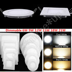 Dimmable Recessed LED Panel Ceiling Down Light 6W 12W 9w 18W 21W Spot Light Lamp