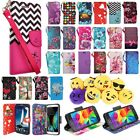 Samsung Galaxy J1 2015 J100 Leather Wallet Pouch Case Flip Cover