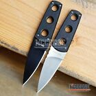 """2 COLOR 6.5"""" MILITARY TACTICAL COMBAT NECK KNIFE G10 Handle w/ Kydex Sheath"""