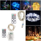 5m 50pcs Colorful String LED Light Lamp With 16 Key Remote Control Waterproof
