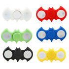 2017 Tri-Fidget LED Bat Wings Finger Spinner ADHD Autism Focus Bat Spin Toy MMJ
