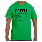 Christian Religious Tshirt Definition of FAITH Short or Long Sleeve