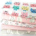 WHISKERS & TAILS Fabric bundle OR Fabrics per 1/2 metre 100% cotton fabric