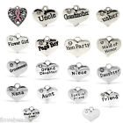 "20 PCs Charms Pendants Rhinestone Heart 16mmx14mm(5/8""x4/8"") M1473"