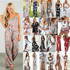 Boho Womens Holiday Mini Playsuit Dress Summer Party Beach Sundress Jumpsuit USA