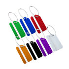 Aluminium Metal Travel Luggage Tags Suitcase Name Address Card Label ID Holder