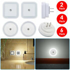 0.5W Plug-in Auto Sensor Control LED Night Light Lamp for Bedroom Hallway White