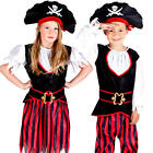 Pirate Kids Fancy Dress Caribbean Buccaneer Book Day Week Childrens Costumes New