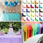 """6""""x 25 Yards Tulle Roll Spool Tutu Wedding Gifts Craft Party Decoration Supplies"""