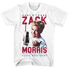 Saved By The Bell 80s Comedy Sitcom Vote Zack Morris President Adult T-Shirt Tee image