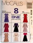 McCall's 8539 Childrens & Girls Dress 8 Great looks 1 Easy Pattern MANY SIZES