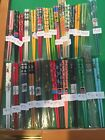 JAPANESE 6 1/4 INCH CHOPSTICKS/HAIR STICKS WITH FREE SILK HOLDER---18 DESIGNS