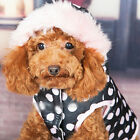 2017 NEW  Dog Puppy Pet coat Clothes Winter warm Apparel jacket hoodies M