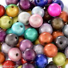 Wholesale Lots Gift Mixed Miracle Acrylic Round Spacer Beads 12mm
