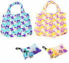 BUTTERFLY CLIP BAG/BAGS-FOLDABLE FOLDING SHOPPING TOTE SHOPPER- KEEP IN HANDBAG