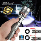 20000LM Elfeland Tactical T6 LED Rechargeable Zoomable Flashlight 18650 Torch