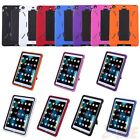iPad Mini Case Heavy Duty Kid Proof Shockproof Hard Protector Cover w/Kick Stand